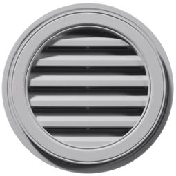 Round Exterior Wall Vent 36″/914mm | Gable Master Wall Vents